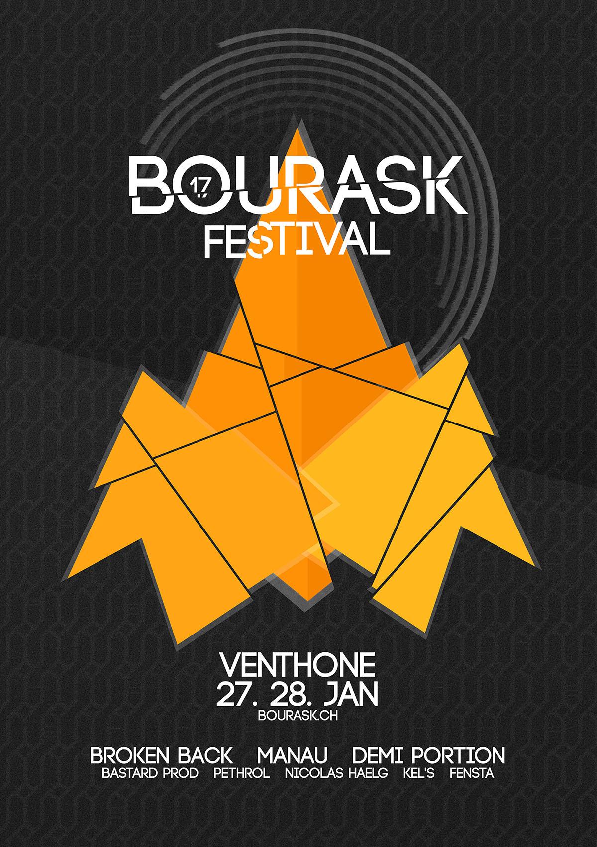 affiche bourask festival
